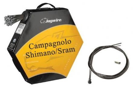 JAGWIRE Campagnolo or Shimano Road Bike Inner Brake Cable Wire Slick Stainless